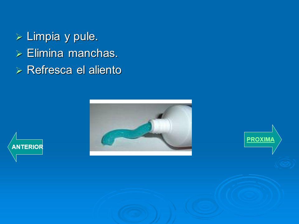 Pasta dental-elimina la placa dentobacteriana. Pasta dental-elimina la placa dentobacteriana. Combate la destrucción de los dientes. Combate la destru