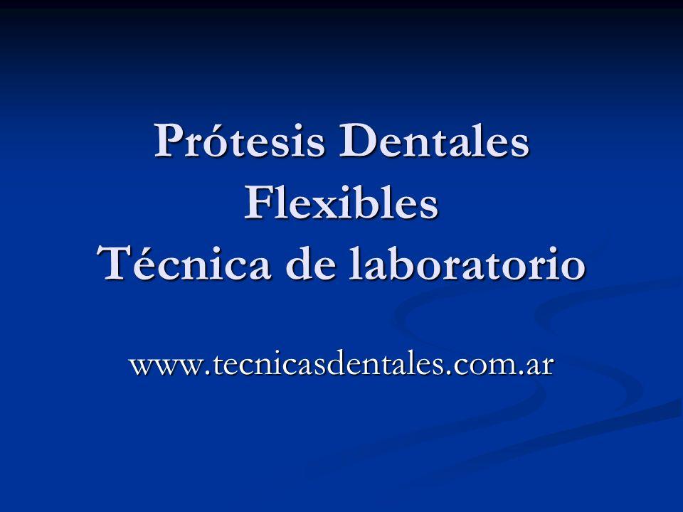 Prótesis Flexibles Inyectadas Es un sistema de prótesis removibles confeccionadas con un material termo inyectable semi-flexible denominado poliamida.