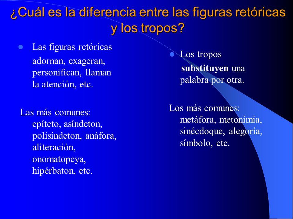 Sor Juana y la cultura del Barroco Sor Juana y la cultura del Barroco Las figuras retóricas y los tropos