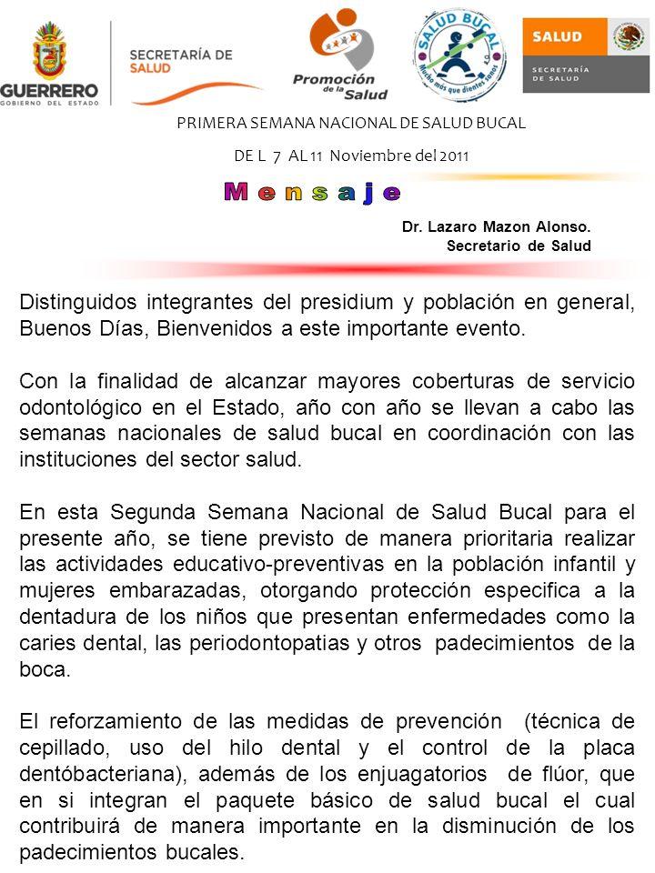 Distinguidos integrantes del presidium y población en general, Buenos Días, Bienvenidos a este importante evento.