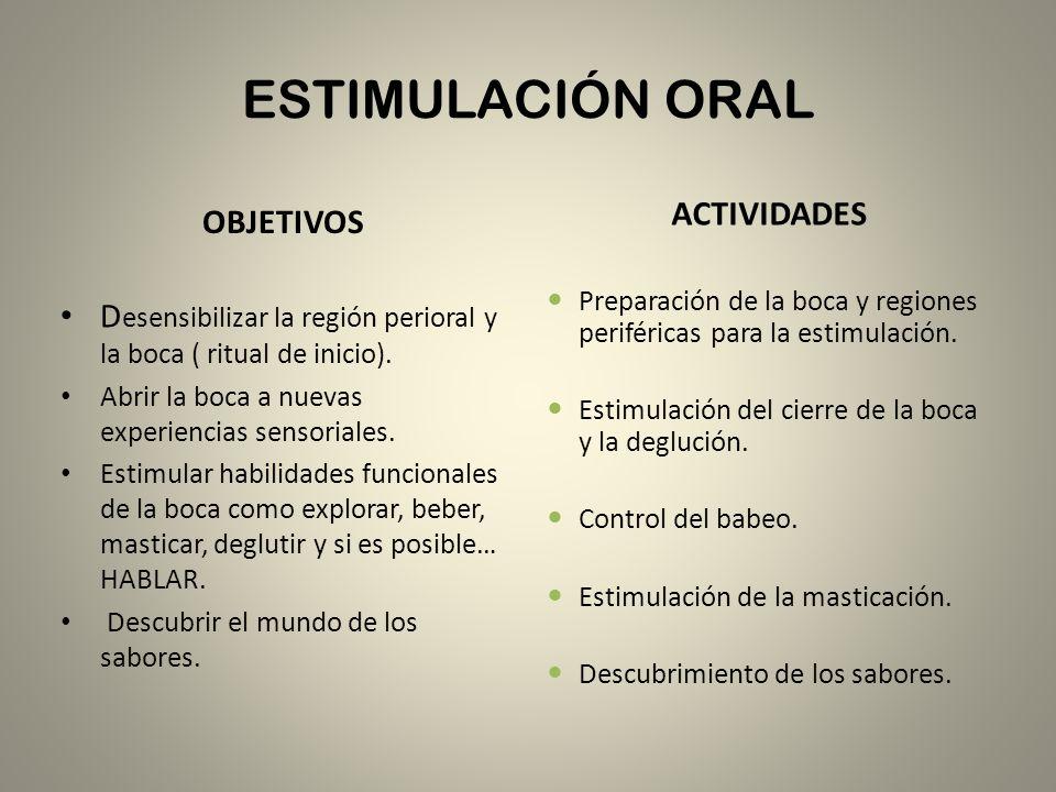 ESTIMULACIÓN OLFATIVA ACTIVIDADES: – Estimulación del olfato con diferentes esencias observando las reacciones y expresiones del niño.