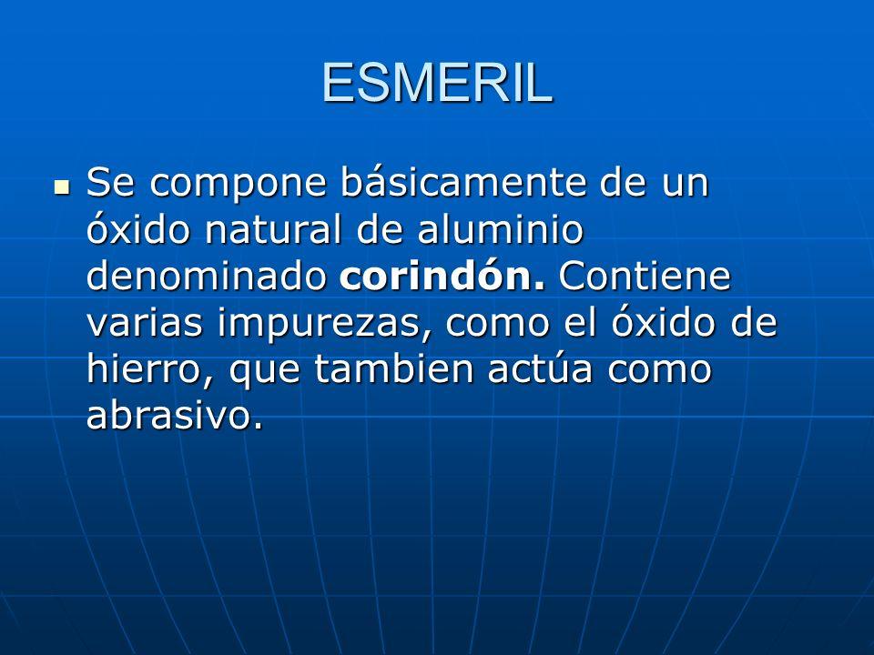 ÓXIDO DE ALUMINIO El óxido de aluminio puro se obtiene de la bauxita, que es un óxido de aluminio impuro.