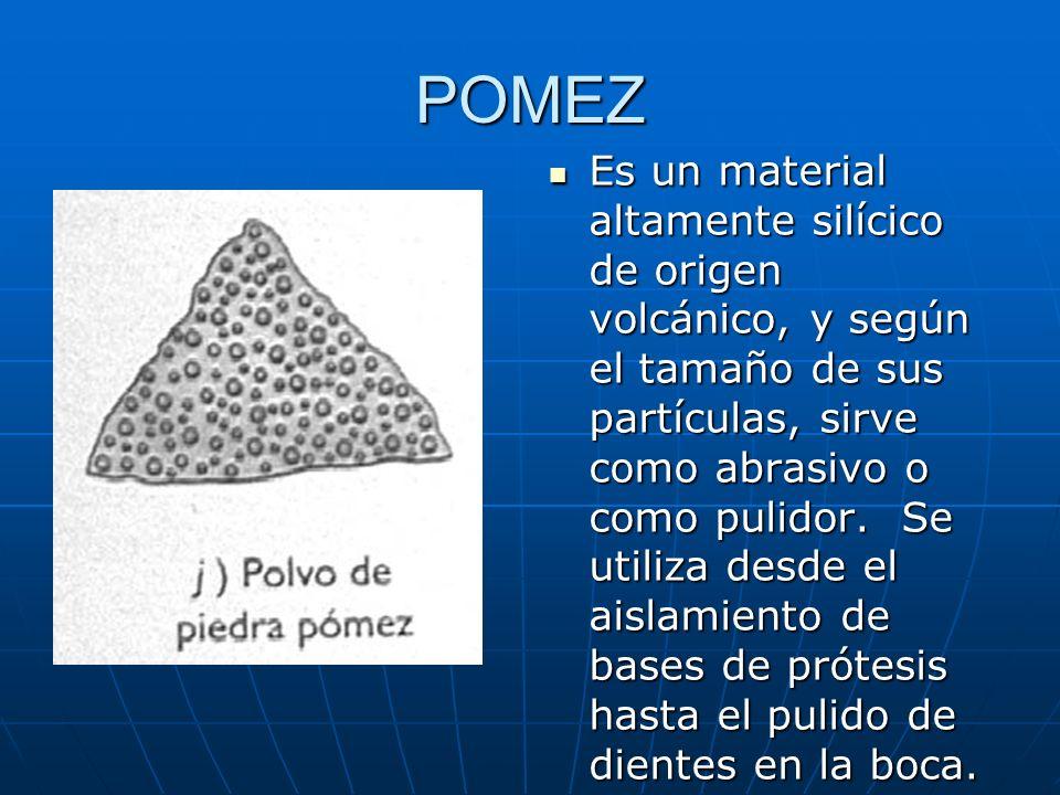 KIESELGUHR Tambien llamado harina fosil, se compone de restos silícicos procedentes de pequeñas plantas acuáticas llamadas diatomeos, cuya forma gruesa tierra de diatomeas, se usa como relleno de muchos materiales.