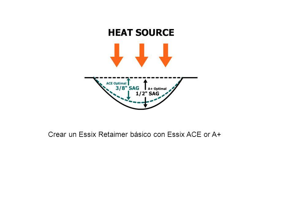 Crear un Essix Retaimer básico con Essix ACE or A+