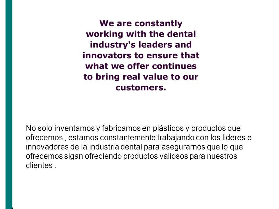 No solo inventamos y fabricamos en plásticos y productos que ofrecemos, estamos constantemente trabajando con los lideres e innovadores de la industri