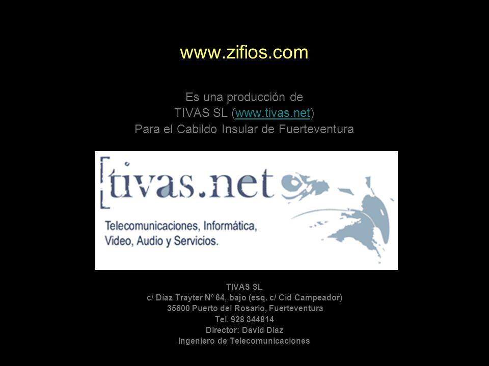Es una producción de TIVAS SL (www.tivas.net)www.tivas.net Para el Cabildo Insular de Fuerteventura TIVAS SL c/ Díaz Trayter Nº 64, bajo (esq. c/ Cid