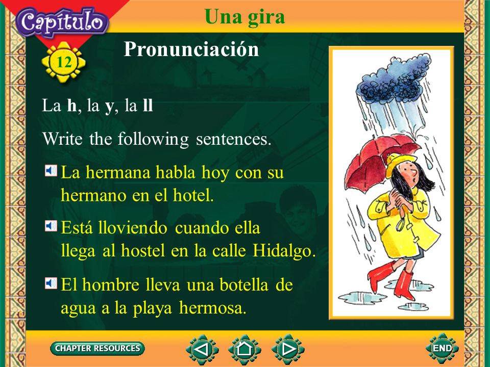 Pronunciación The ll is pronounced as a single consonant in Spanish. In many areas of the Spanish-speaking world, it is pronounced the same as the y.