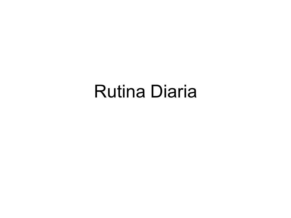 Rutina Diaria