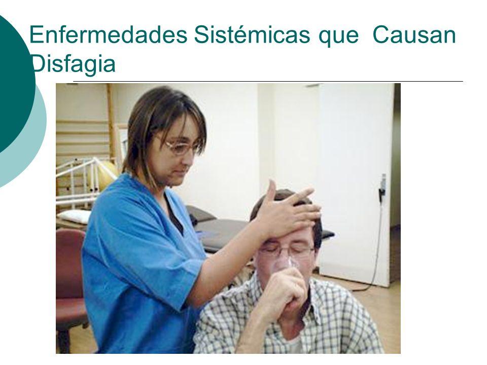 Enfermedades Sistémicas que Causan Disfagia