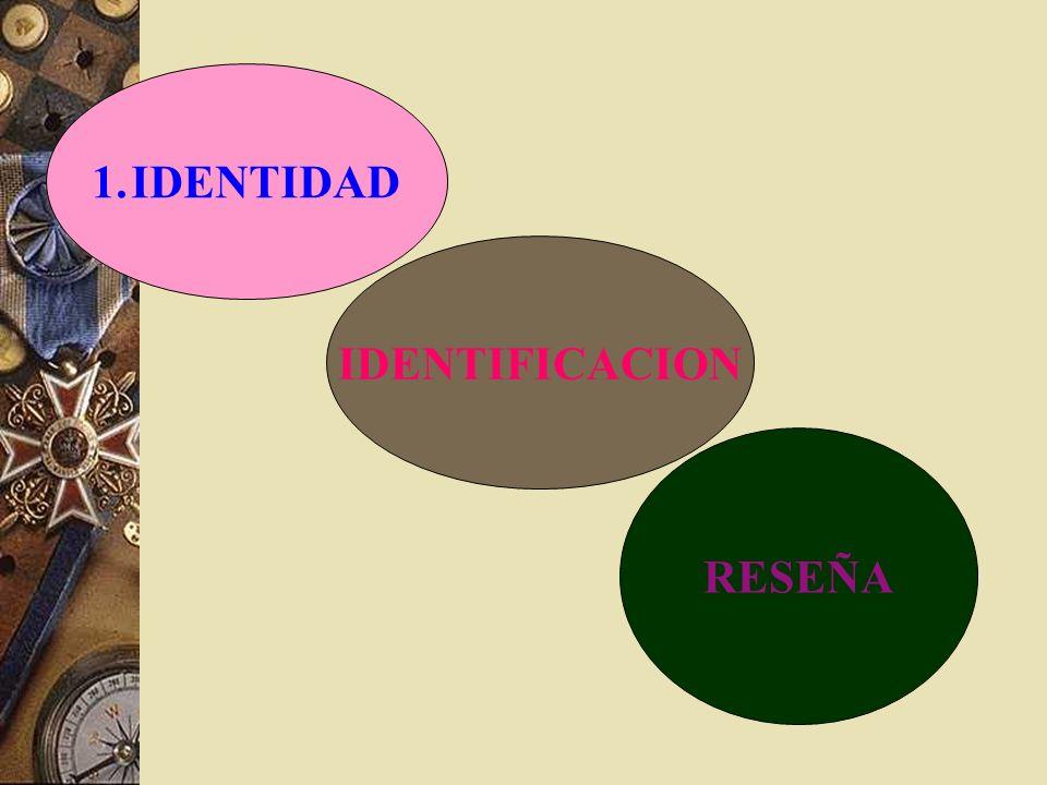 IDENTIFICACION DE CADAVERES