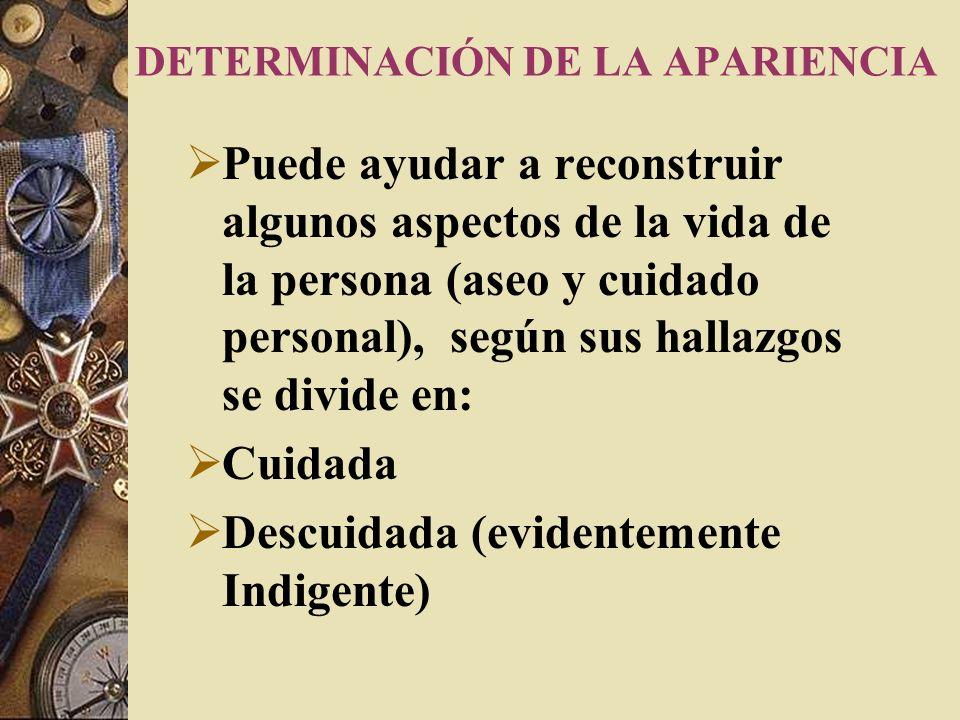 IDENTIFICACION INDICIARIA El reconocimiento Indiciario tiene lugar cuando por diferentes razones no se puede lograr un cotejo fehaciente (imposibilida