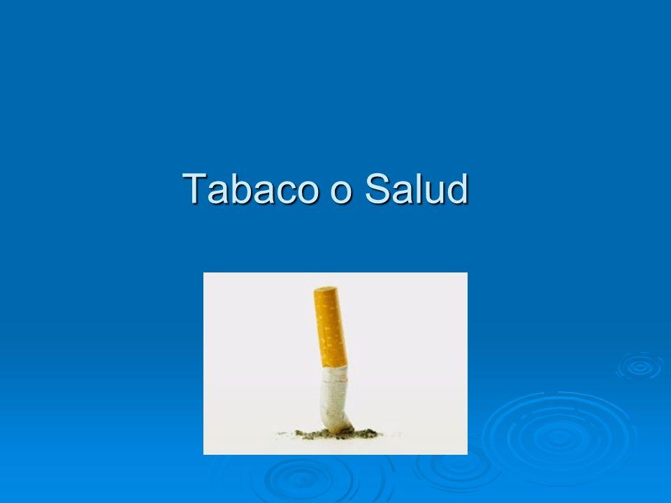¿Qué contiene el humo de tabaco que contamina los ambientes cerrados.