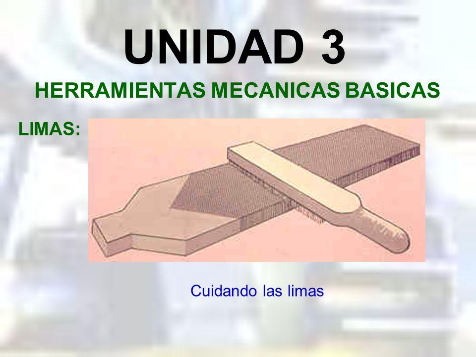 UNIDAD 3 HERRAMIENTAS MECANICAS BASICAS LIMAS: Limado en ángulo
