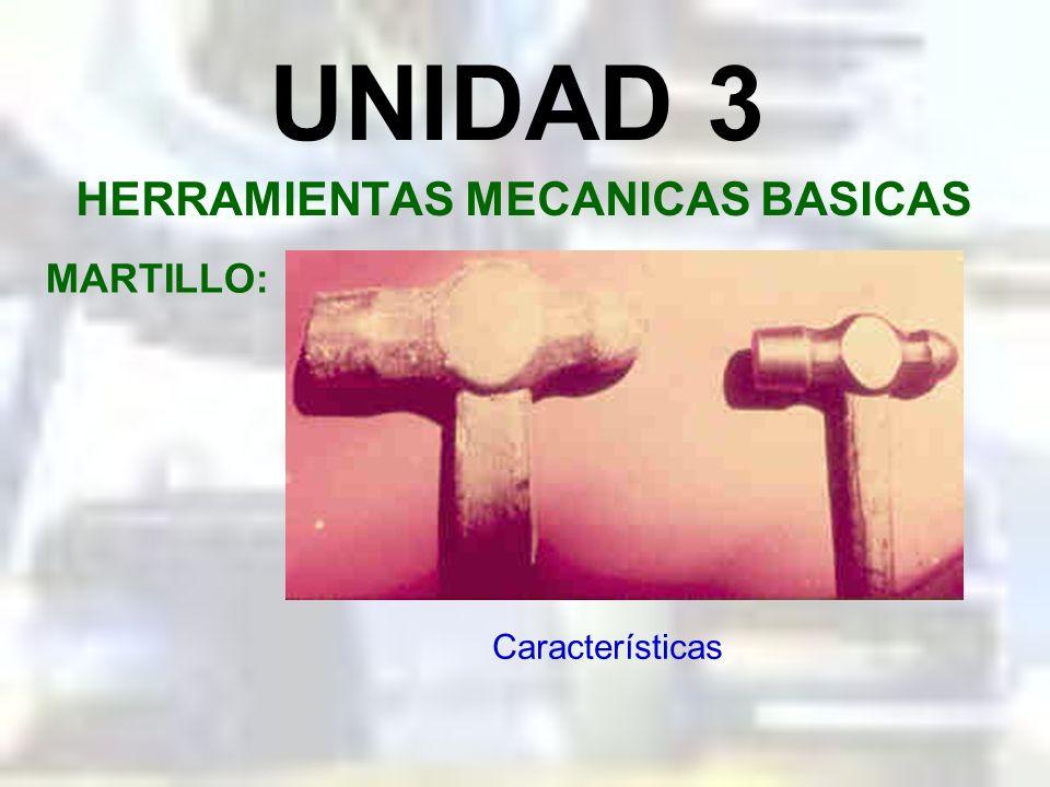 UNIDAD 3 HERRAMIENTAS MECANICAS BASICAS CINCEL: Seguridad al cincelar