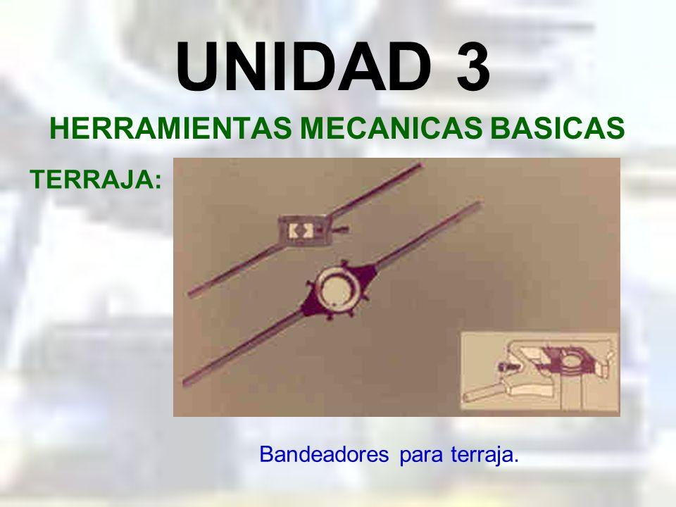 UNIDAD 3 HERRAMIENTAS MECANICAS BASICAS TERRAJA: Importancia del bisel en la terraja.