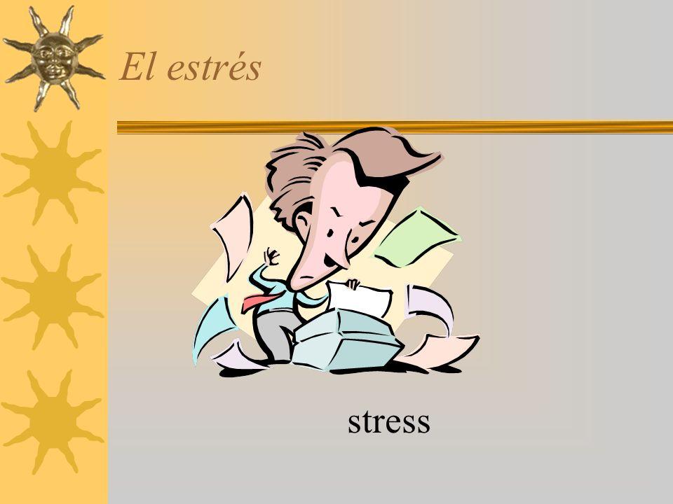 El estrés stress