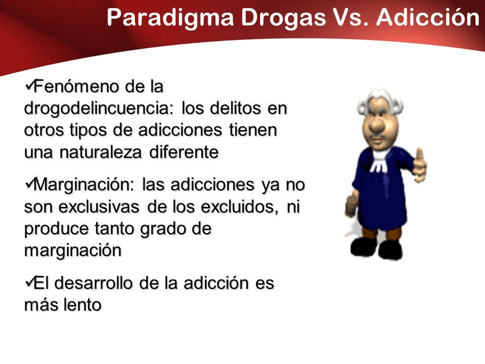 Paradigma Drogas Vs.