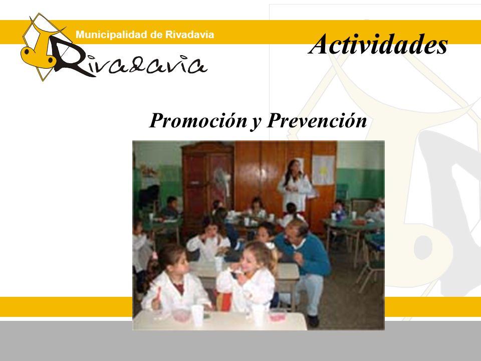 Municipalidad de Rivadavia Promoción y Prevención Actividades