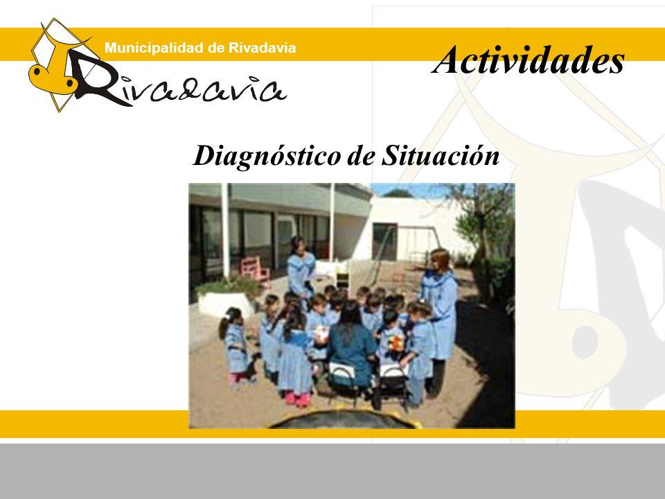 Municipalidad de Rivadavia Diagnóstico de Situación Actividades