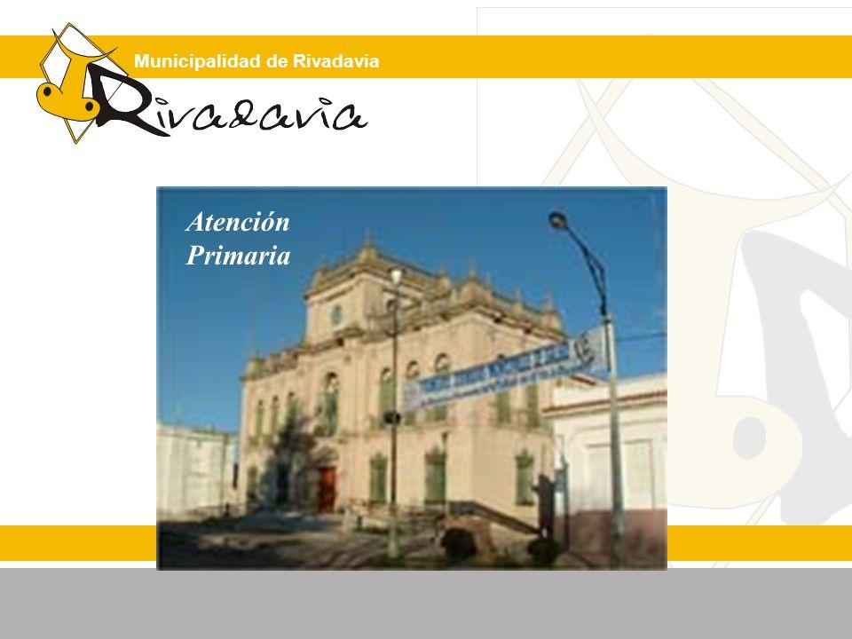 Municipalidad de Rivadavia Recursos ECONÓMICOS Equipo de Salud Docentes Cooperadoras Líderes comunitarios ONG Institución Educativa Centro de APS Cepillos Equipamiento Fluoruros Vasos, servilletas y fuentes (salivaderas) Difusión Ayudante HUMANOS FÍSICOS