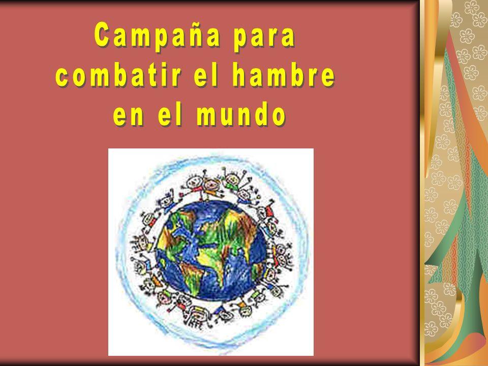 Objetivo 2 Conocer la magnitud del hambre en el mundo Concepto Pese a que se han conseguido mejoras importantes, muchos millones de personas padecen hambre y están malnutridas