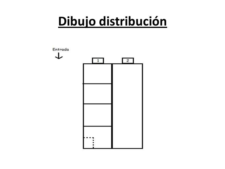 Dibujo distribución