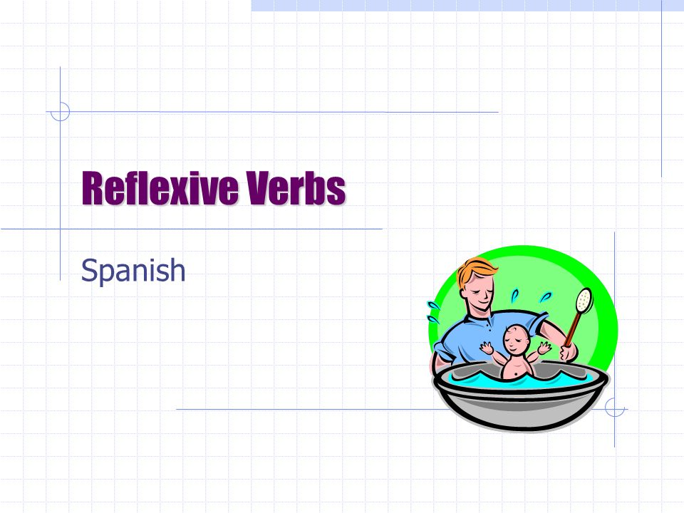 Reflexive Verbs Spanish