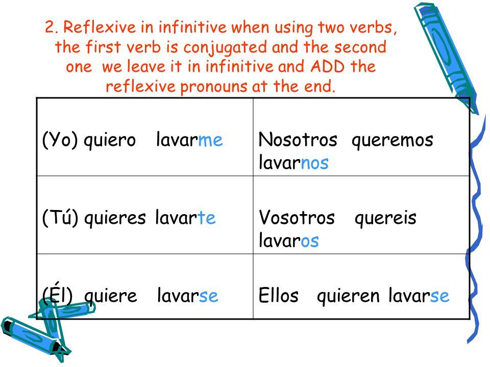 Fill in the blank with the correct reflexive pronoun: (Yo) _________ levanto a las seis. Me