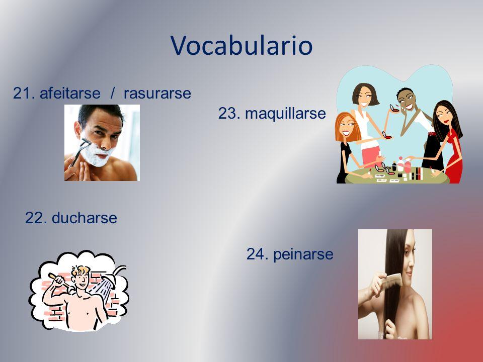 Talking about your daily routine ¿Cómo es un día típico.