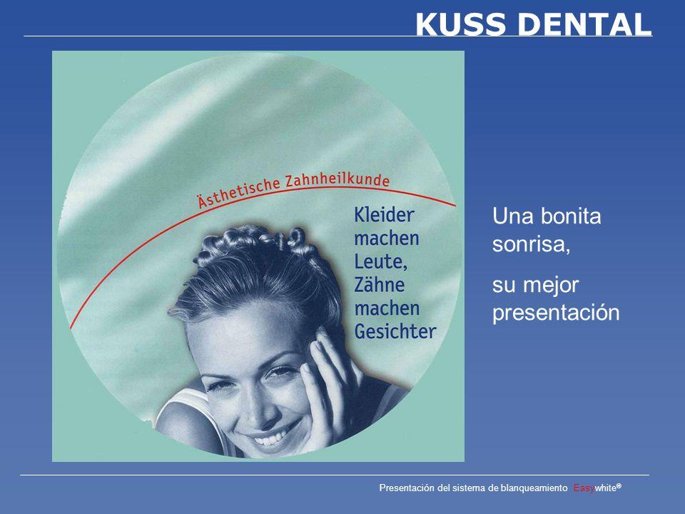 Presentación del sistema de blanqueamiento Easywhite ® KUSS DENTAL La línea Easywhite