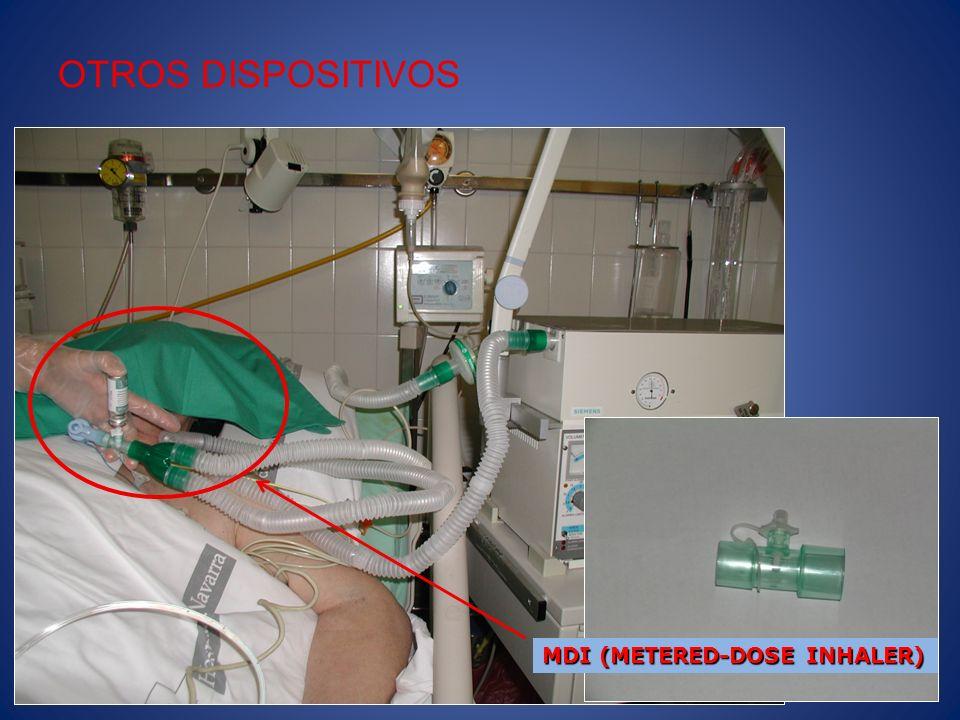 Otros dispositivos a tener en cuenta son las válvulas de reinhalación de co2.