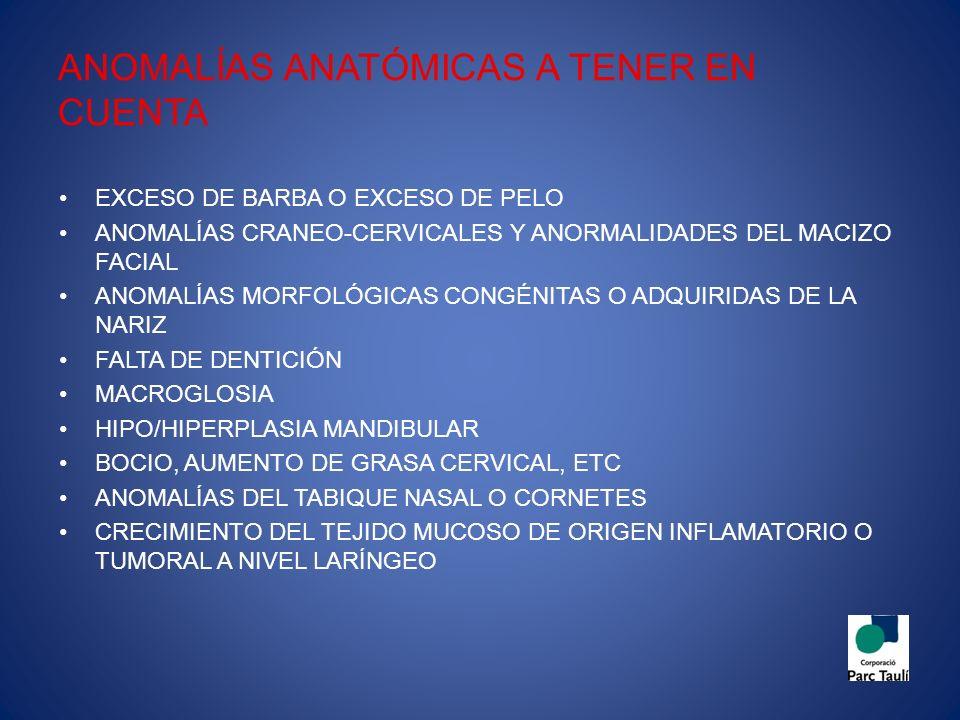 SELECCIÓN DE LA INTERFASE IMPORTANTE TENER EN CUENTA: -CARACTERÍSTICAS ANATÓMICAS DE LA CARA DEL PACIENTE -URGENCIA Y GRAVEDAD DE LA SITUACIÓN -COMPATIBILIDAD DE LA MASCARILLA CON EL VENTILADOR Y SUS TUBULADURAS -COMPATIBILIDAD DE LA MASCARILLA CON EL SISTEMA DE ELIMINACIÓN DE AIRE ESPIRADO ES UN FACTOR DETERMINANTE EN EL BUEN RESULTADO DE LA VMNI
