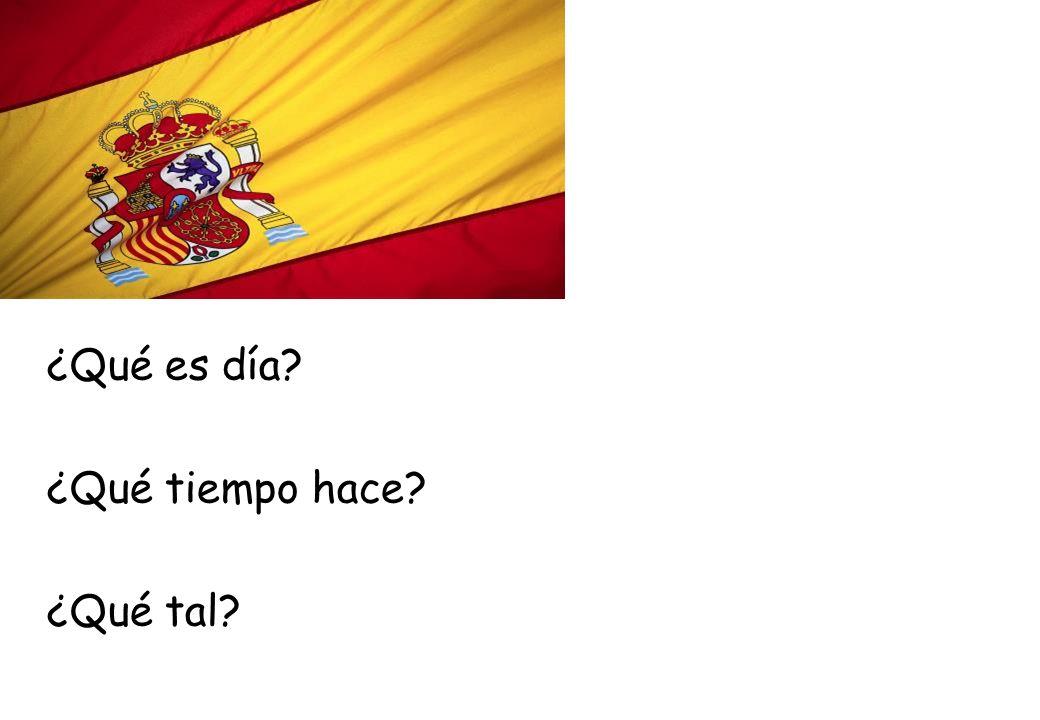Las Preguntas… A)Answer the Following Questions in ENGLISH 1.