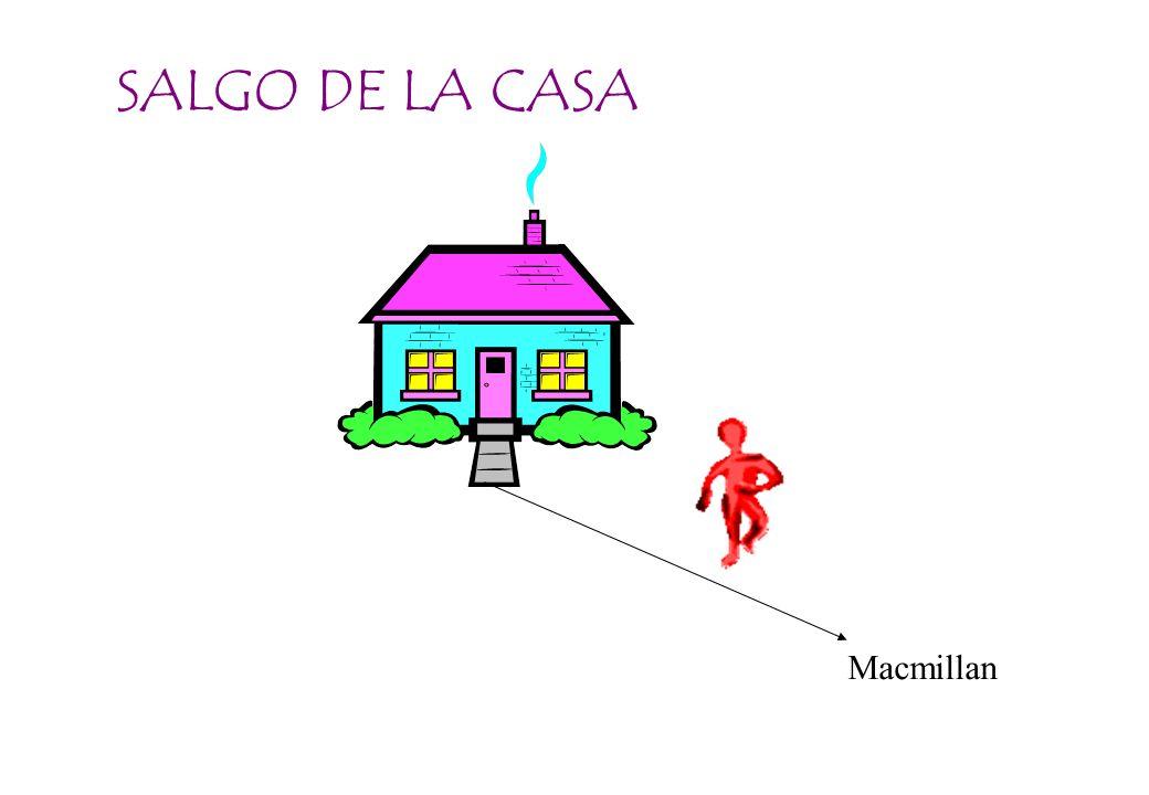 SALGO DE LA CASA Macmillan