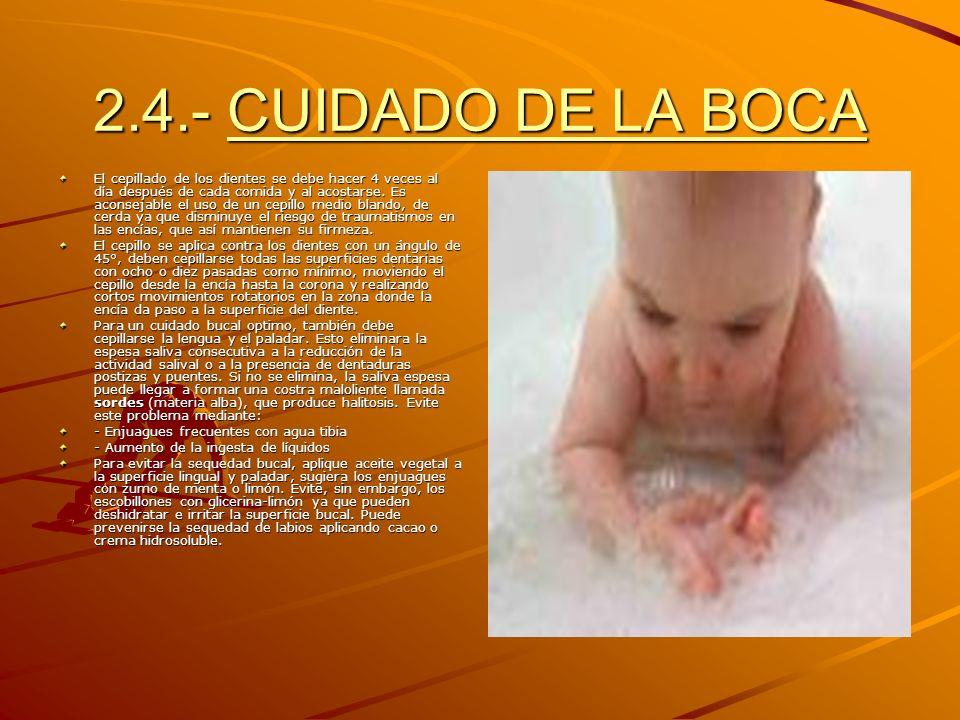 La Higiene Diaria Del Cuerpo H. 2.1.- BAÑO COMPLETO El baño tiene una serie de funciones como eliminar la secreción sebácea, la transpiración, células