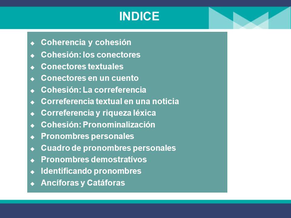Recursos de cohesión 1° Secundaria La Comunicación Lenguaje
