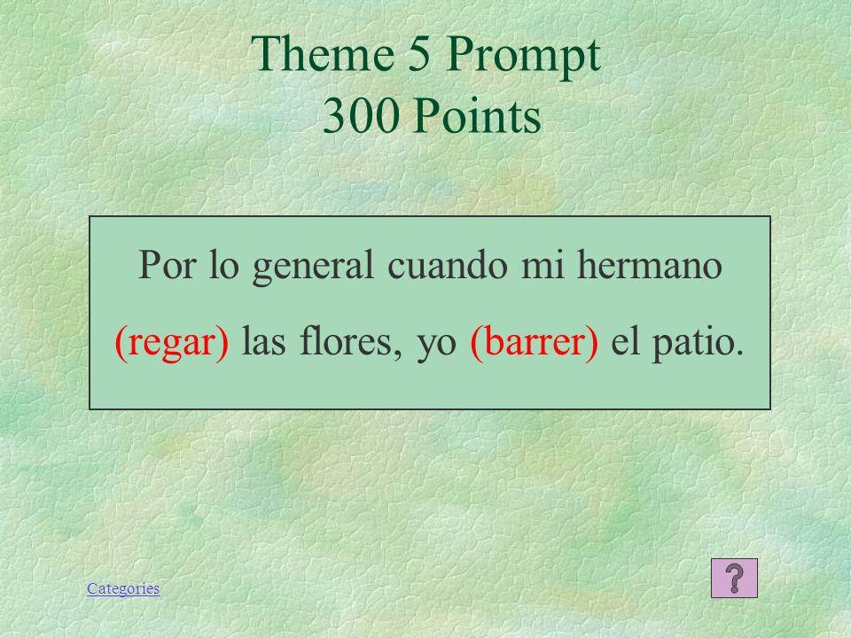 Categories Pilar era baja y gordita cuando tenía 6 años. Theme 5 Response 200 Points