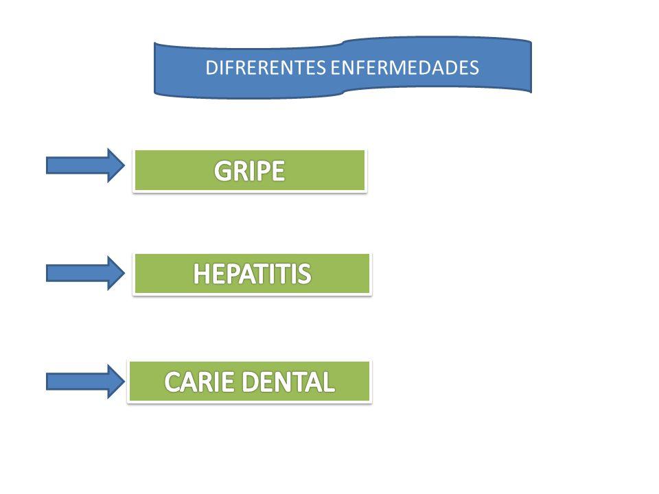 GRIPE Conocida como Gripa o influenza Es una enfermedad muy común mayormente en los niños, esta ataca las vías respiratorias, es similar a un resfriado y trae fiebre como un signo característico.