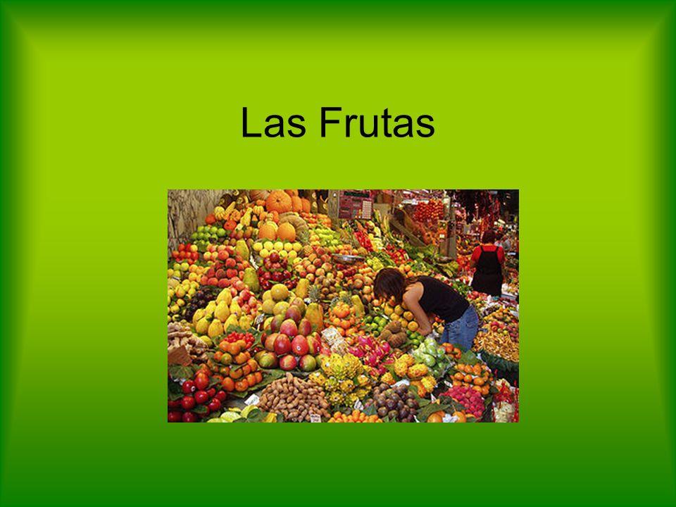 Hablando sobre las frutas: Partes de una fruta: Poupa = La pulpa Sementes = Las semillas Casca = La cáscara