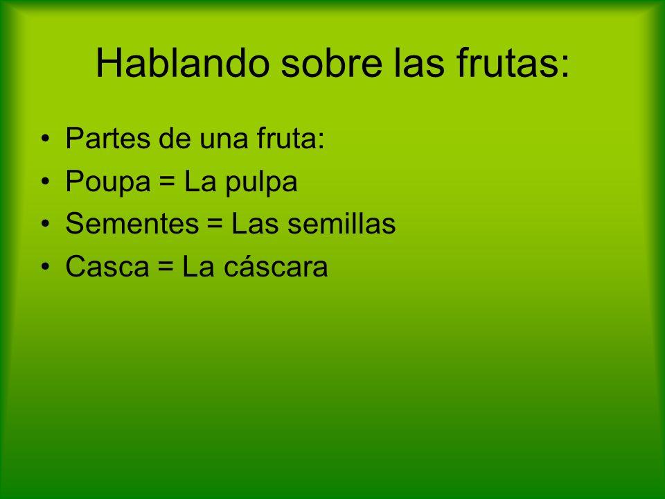 Granada Se sabe que la granada es una fruta oxidantes, mineralizante y refrescante.