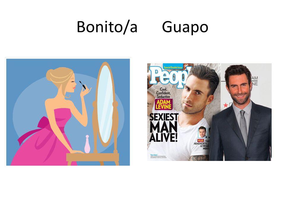 Bonito/a Guapo