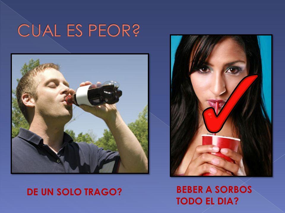 ALIMENTOS QUE SON MALOS O PERJUDICIALES SODAS !!.