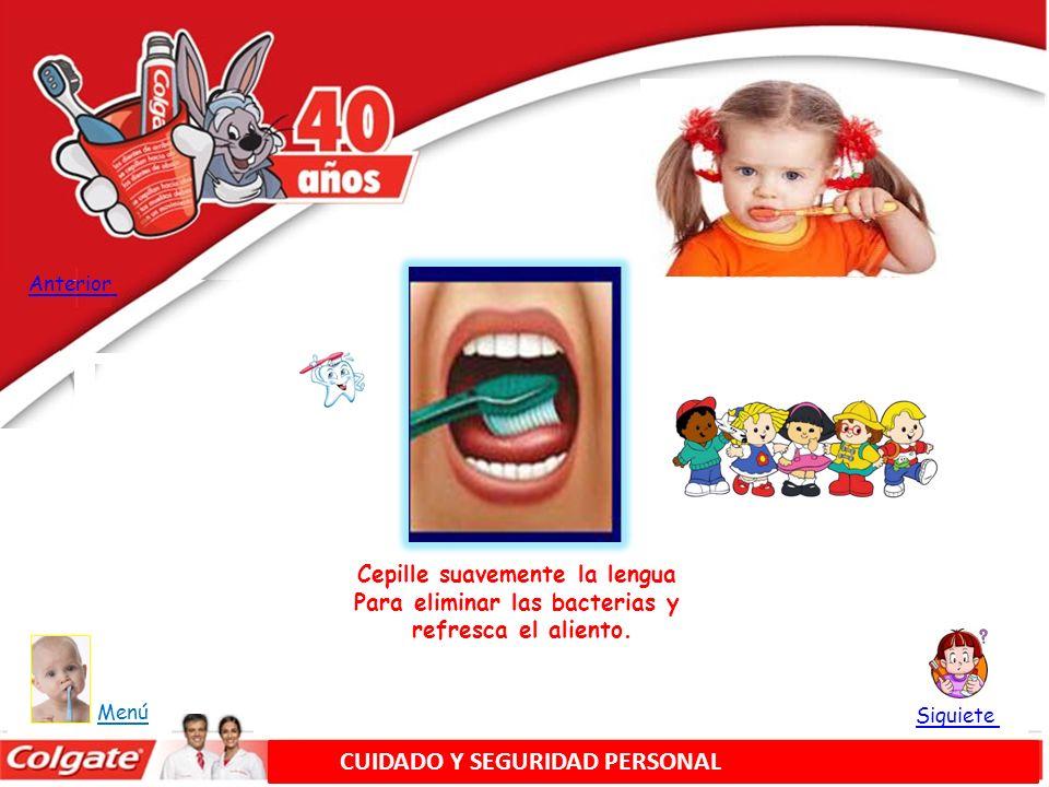 Utilice unos 45 cm (18») de hilo dental, Dejando 3ó 5 cm (1 ó 2) Para trabajar.
