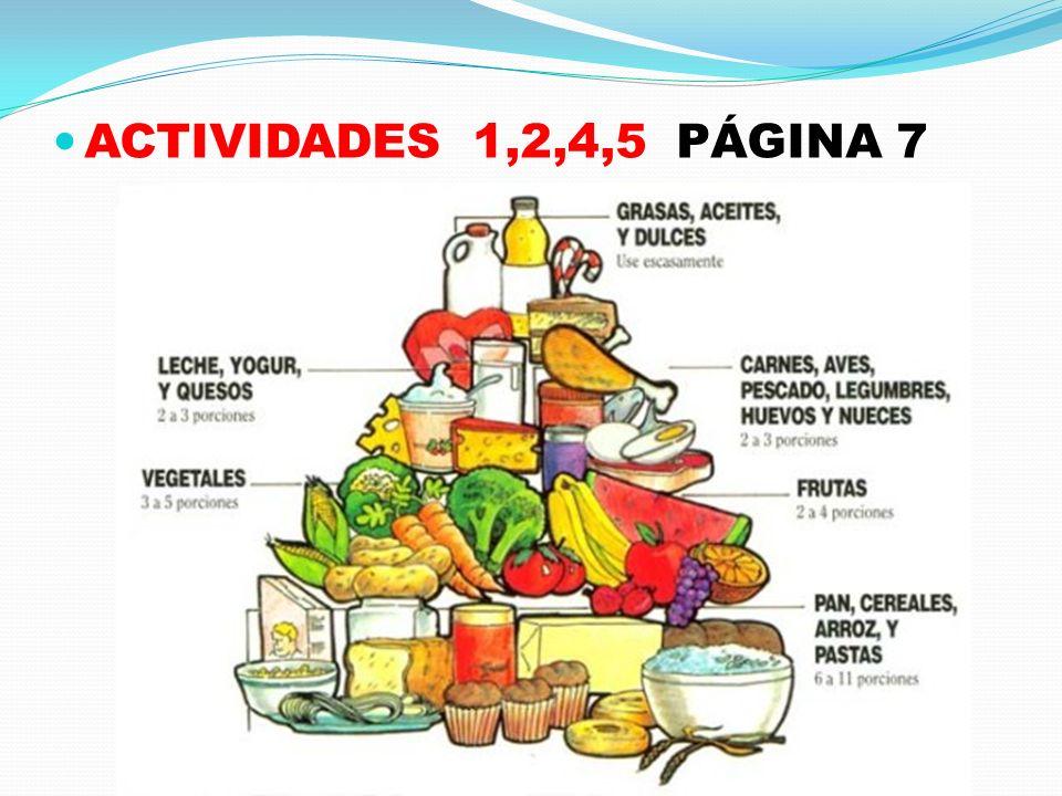 ACTIVIDADES 1,2,4,5 PÁGINA 7
