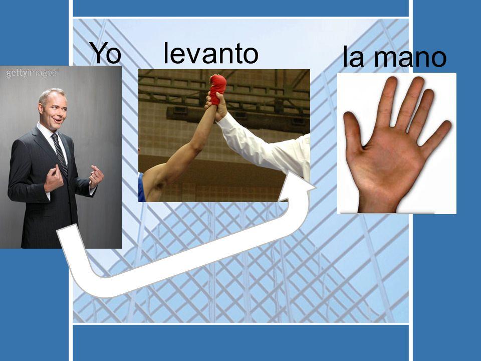 Yolevanto la mano
