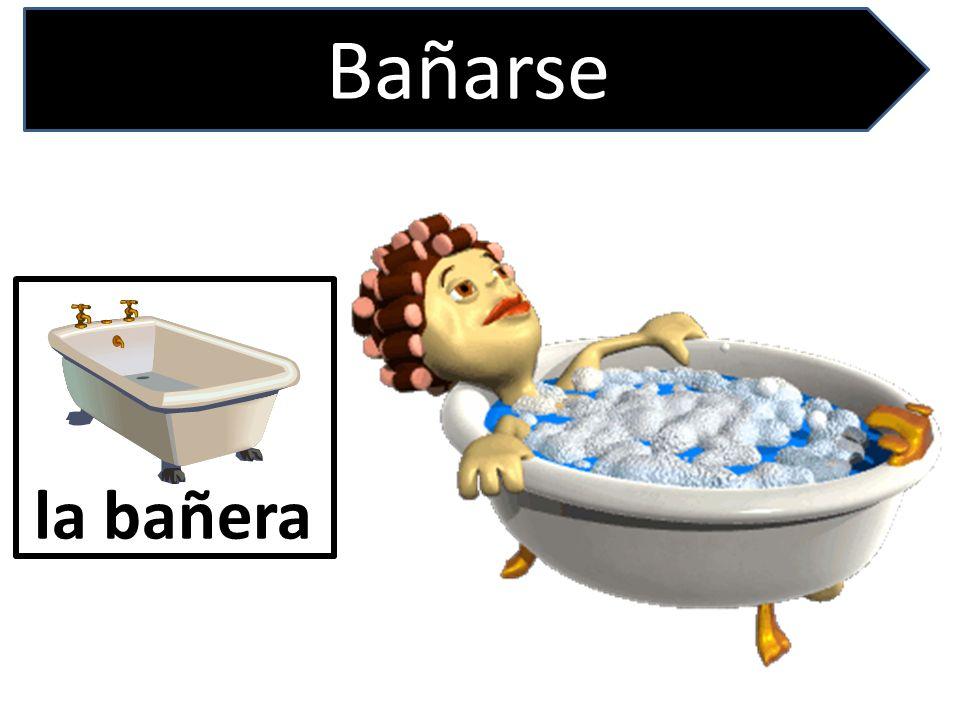 Bañarse la bañera