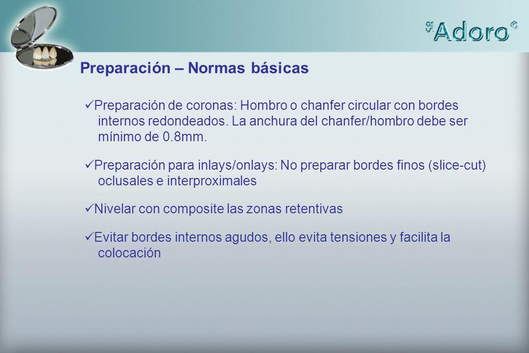 Preparation before impression taking after soft tissue management Preparacion antes toma de impresión y después de preparación del sulcus