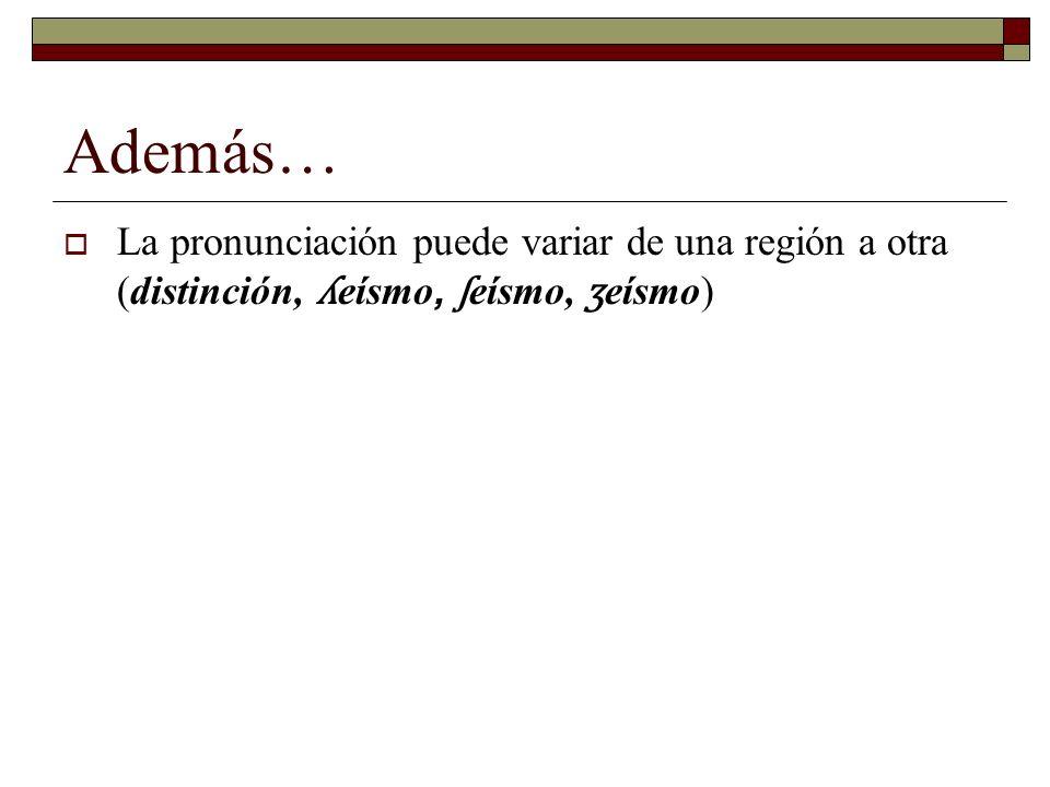 3.7.2 El ritmo ESPAÑOL: una lengua syllable-timed o silábico.
