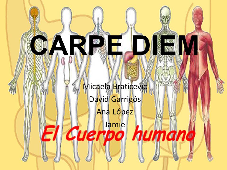 CARPE DIEM Micaela Braticevic David Garrigós Ana López Jamie