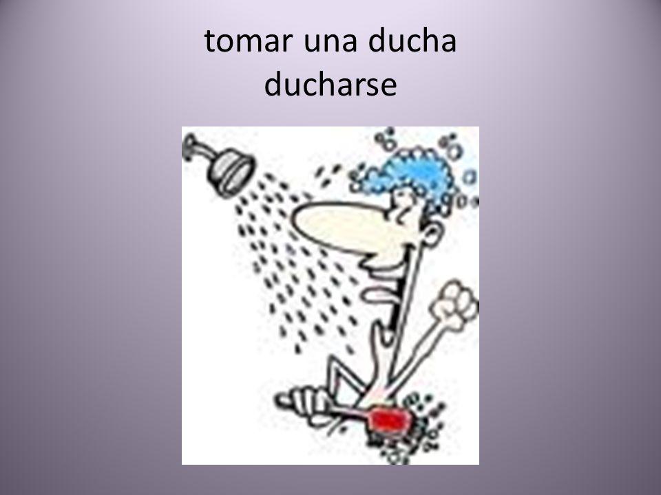 tomar una ducha ducharse